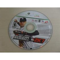 Major League Baseball 2k7mlb Original Somente O Disco