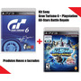 Gran Turismo 6 + Playstation All-star Battle Royale - Ps3