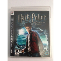 Jogo Harry Potter Half- Blood Para Ps3 /semi Novo/ Barato!!