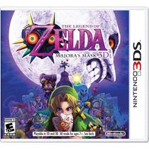 The Legend Of Zelda Majoras Mask 3d 3ds Lacrado Original
