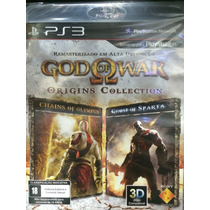 God Of War Origins Collection Para Ps3 Novo Lacrado