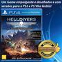 Jogo Ps4- Helldivers - Ed Final Do Super-earth -mídia Física