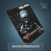 Crossfire Jogo Pc - Cartão De 140.000 Zp Cash - Imbatível