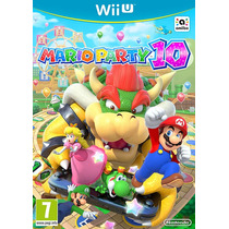 Jogo Mario Party 10 Nintendo Wii U Original Pronta Entrega