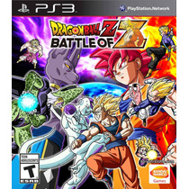 Dragon Ball Z: Battle Of Z - Ps3 - Novo E Lacrado!