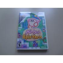 Nintendo Wii - Kirby S Epic Yarn Original Americano Completo