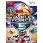 Hot Wheels Battle Force 5 Wii Usado Original Midia Fisica