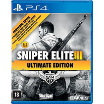 Sniper Elite Iii - Ultimate Edition - Ps4
