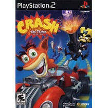 Crash Bandicoot Tag Team Racing Ps2 Patch + 1 De Brinde