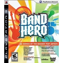 Ps3 - Band Hero - Original - Lacrado