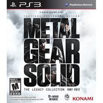 Metal Gear Solid: The Legacy Collection - Ps3 | Lacrado Novo