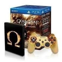 Kit Colecionador God Of War Ps3 - Controle E Jogo