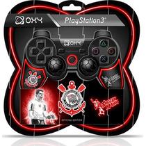 Controles Oficiais Dos Times Ps3 Corinthians - Oxy Games