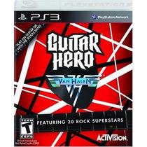Guitar Hero Van Halen Ps3 Usado Original Midia Fisica