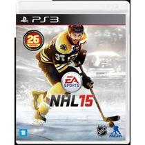 Nhl 15 Playstation 3 - Jogo De Hoquei Midia Fisica
