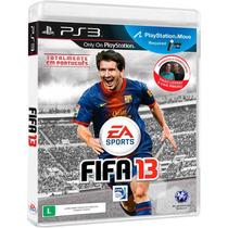 Jogo Fifa 13 Ps3 Original Lacrado Totalmente Em Português