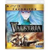 Valkyria Chronicles Ps3 Lacrado Original Midia Fisica