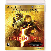 Resident Evil 5 Gold Edition - Ps3 Novo/ Lacrado
