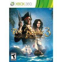 Port Royale 3 Pirates & Merchants Xbox 360 Lacrado Original