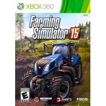 Farming Simulator 15 Xbox 360 Mídia Física Lacrado Original