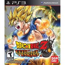 Dragon Ball Z: Ultimate Tenkaichi - Ps3 | Lacrado Original