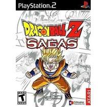 Dragon Ball Z Sagas Ps2 Patch - Frete Grátis