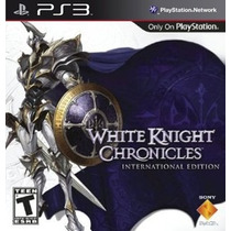 Jogos Ps3 - The White Knights Chronicles