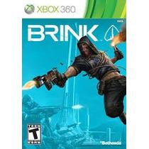 Jogo Xbox 360 - Brink (original/completo/mídia Física)