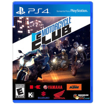 Jogo Motorcycle Club Para Playstation 4 (ps4)