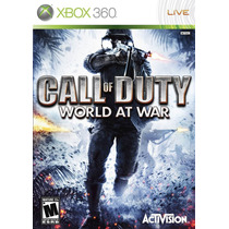 Call Of Duty 5 World At War Xbox 360 - Original Semi-novo