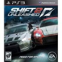 Need For Speed Shift 2 Unleashed Ps3 Mídia Física Lacrado