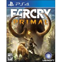 Farcry Primal Ps4 - Playstation 4 - Mídia Física - Lacrado!