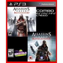 Assassins Creed Ac Revelations E Ac Brotherhood Ps3 Psn