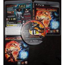 Playstation 3 - Mortal Kombat 9 Completo
