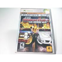 Jogo Xbox Primeira Geração - Midnight Club 3 Original Comple