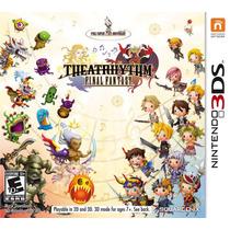 Theatrhythm Final Fantasy Nintendo 3ds Novo Original Lacrado
