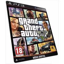 Jogo Gta 5 - Grand Theft Auto V - Game Ps3 Midia Digital Psn