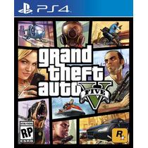 Gta 5 Grand Theft Auto V - Secundária Ps4 Pt-br