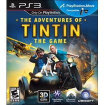 The Adventures Of Tintin The Game Ps3 - Playstation 3