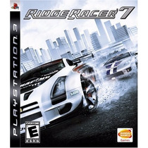 Jogo Ridge Racer 7 Original Para Play Station 3 A5513