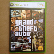 Gta 4 - Grand Theft Auto Iv, Xbox 360. Americano Original!