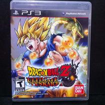 Dragon Ball Z Ultimate Tenkaichi - Ps3 Bom Estado