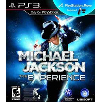 Michael Jackson The Experience Ps3 - Necessita Move