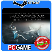 Shadow Of Mordor - The Bright Lord Dlc Steam Cd-key Global