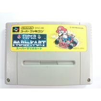 Cartucho Super Nintendo\famicom Mario Kart Original Japonês