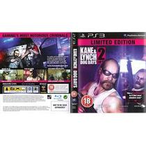 Jogo Kane & Lynch 2 Dog Days Limited Edition Com Luva Ps3