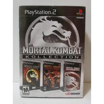 Mortal Kombat Kollection Original E Lacrado Play 2 Americano