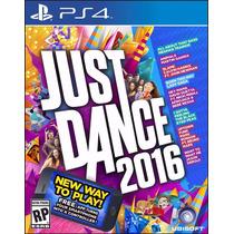 Just Dance 2016 Playstation Ps4 - Mídia Física Original