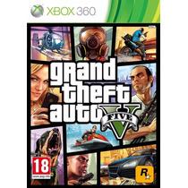 Grand Theft Auto V Gta 5 - X Box 360
