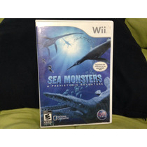 Sea Monsters Wii Americano Zerado Digno Coleção Raridade